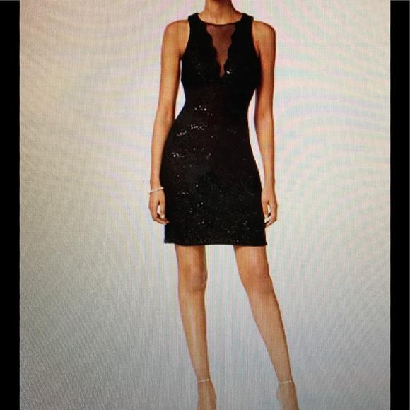 fdc1de636bc SALE NWOT Nightway Sequined Lace Cocktail Dress. M 5a9d9716b7f72b26402ff9f5